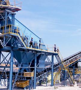 时产60-100吨石灰石生产线