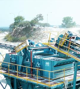 时产200-300吨石灰石生产线