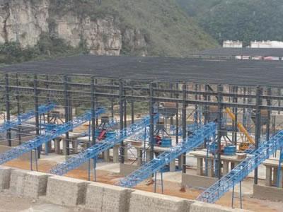 云南2000吨建筑用砂石骨料生产线