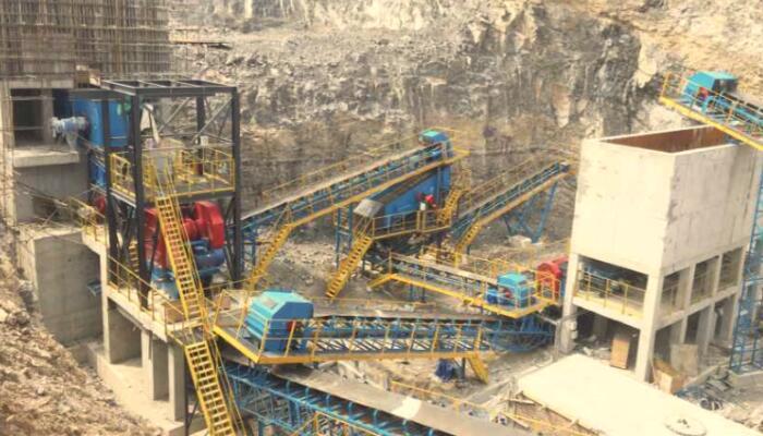 山西晋城600t/h石灰石生产线EPC项目01