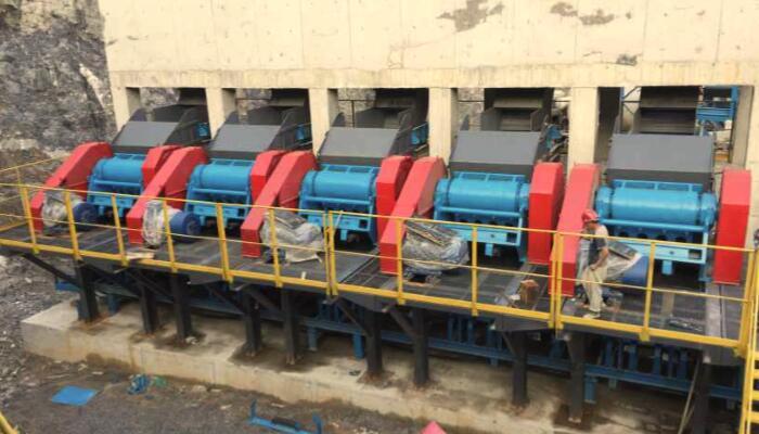 山西晋城600t/h石灰石生产线EPC项目02