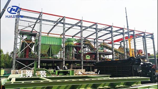 建筑垃圾破碎生产线在上海建成