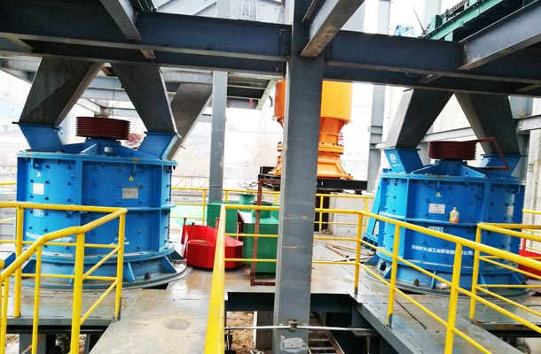 大华重工8台立式复合破在山西投产