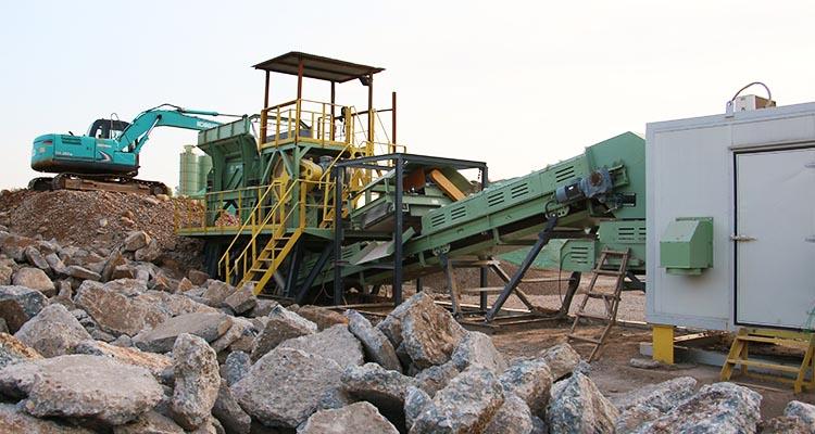 建筑垃圾处理技术与移动式破碎装备解析