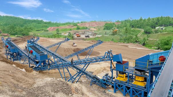 印度尼西亚砂石生产线