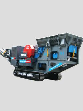 CMC系列履带式颚式破碎机移动站