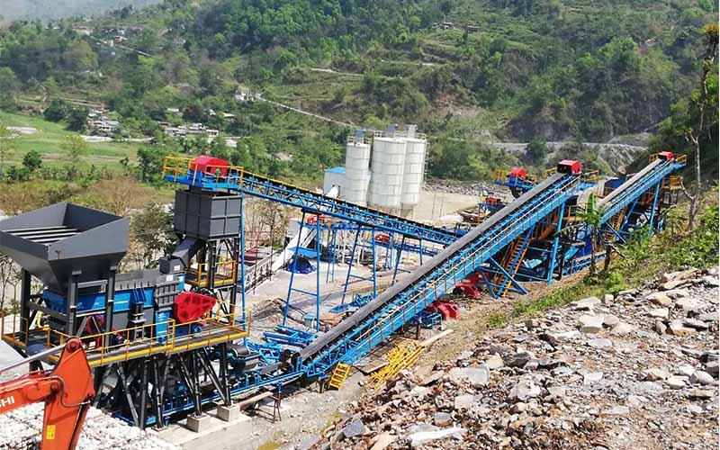 大华重工打造环保、智能、大型化砂石骨料生产线