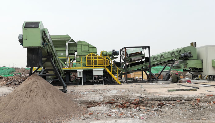 建筑垃圾怎么变成再生骨料,该选什么破碎设备呢?