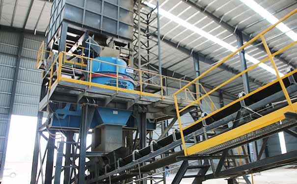 机制砂生产线工艺流程